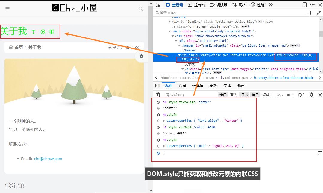 修改元素CSS